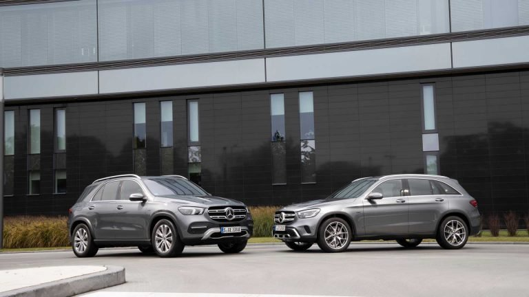 Mercedes-Benz Suv Elettrificati